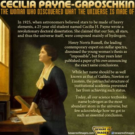 Cecilia Payne Gaposchkin The Woman Who Discovered What The Universe Is Made Of