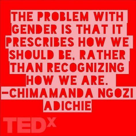 Chimamanda Ngozi Adichie The Problem With Gender