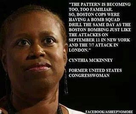 Cynthia McKinney The Pattern Is Becoming