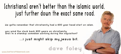 Dave Foley Christians Aren't Better