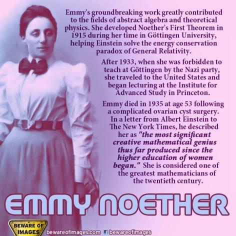 Emmy Noether's Groundbreaking Work