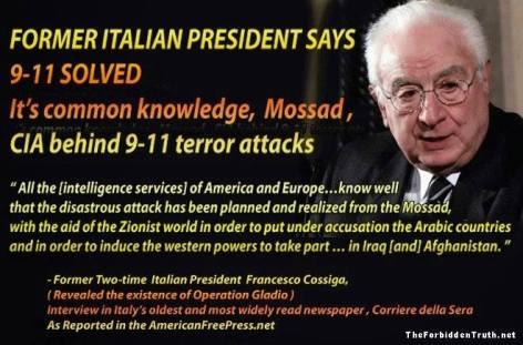 Former Italian President Says 9-11 Solved