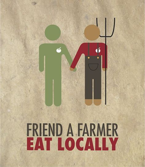 Friend A Farmer Eat Locally