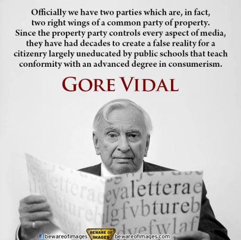 Gore Vidal Officially We Have Two