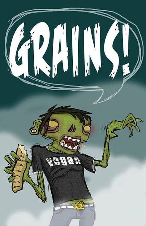 Grains Vegan Zombie Bread Brass Knuckles