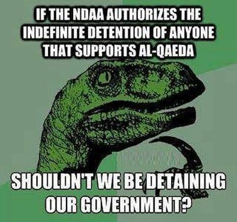 If The NDAA Authorizes The Indefinite