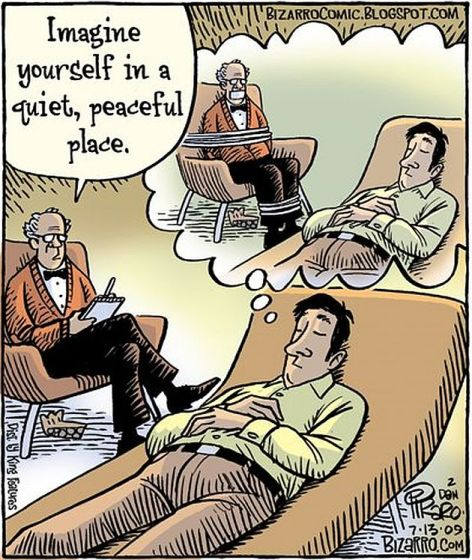 Imagine Yourself In A Quit Peaceful Place