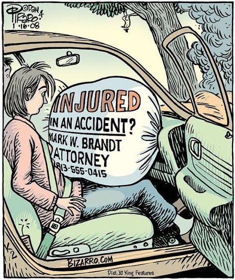 Injured In An Accident Mark W Brandt Attorney