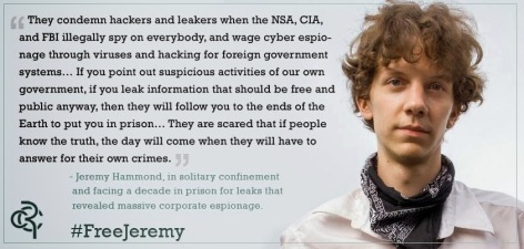 Jeremy Hammond They Condemn Hackers