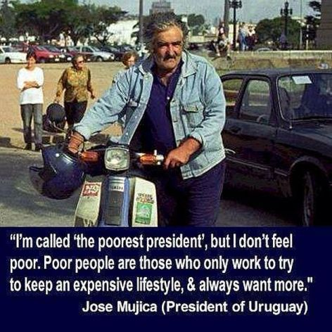 Jose Mujica President Of Uruguay I'm Called The Poorest President