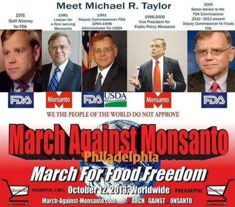 Meet Michael R Taylor March Against Monsanto