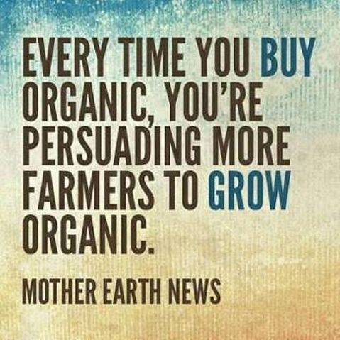 Mother Earth News Every Time You Buy Organic You're Persuading More Farmers To Grow Organic