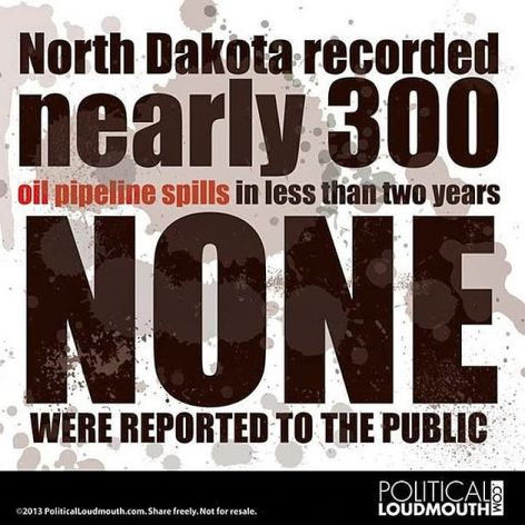 North Dakota Recorded Nearly 300 Oil Pipeline Spills In Less Than Two Years None Were Reported To The Public