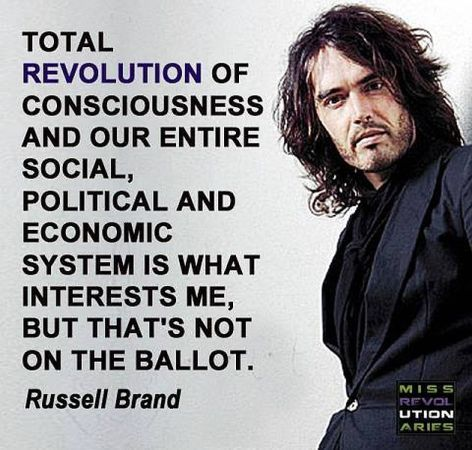 Russell Brand Total Revolution Of Consciousness