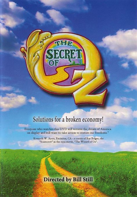 The Secret Of Oz Cover Poster
