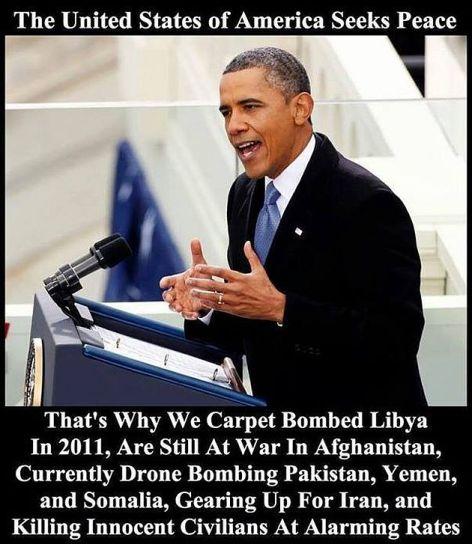 The United States Of America Seeks Peace
