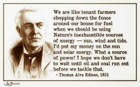 Thomas Alva Edison We Are Like Tenant