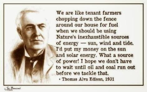 Thomas Alva Edison We Are Like Tenant