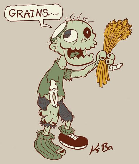 Vegan Zombie Grains