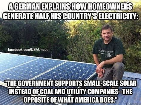 A German Explains How Homeowners Generate