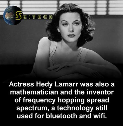 Actress Hedy Lamarr Was Also A Mathematician