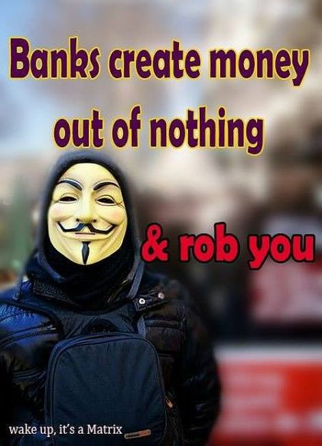 banks create money out of nothing