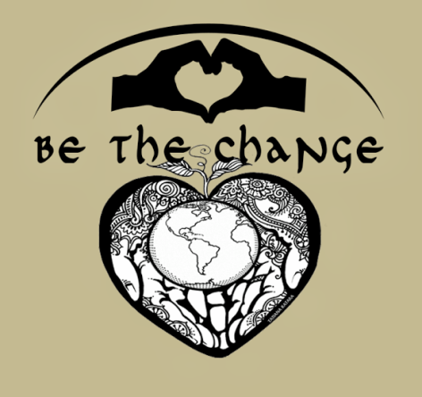 be the change hands hearts