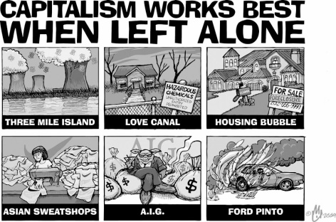 Capitalism works best when left alone