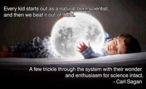 Carl Sagan Every Kid Starts Out As