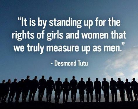 Desmond Tuto It is by standing up