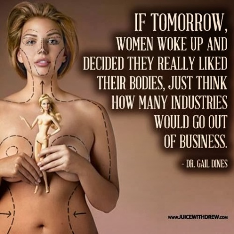Dr Gail Dines if tomorrow women woke