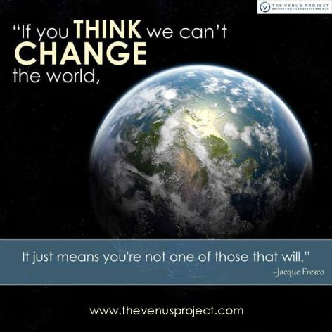 Jacque Fresco If You Think We Can't