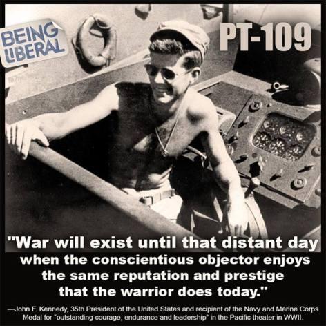 John F. Kennedy War Will Exist Until