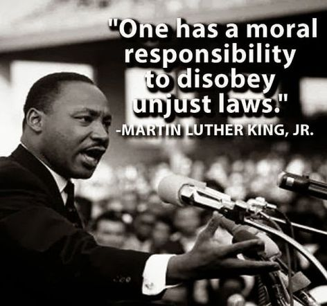 Martin Luther King Jr One Has A Moral