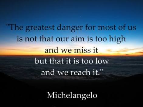 Michelangelo the greatest danger for