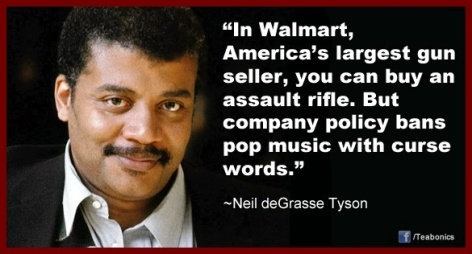 Neil de Grasse Tyson in Walmart America