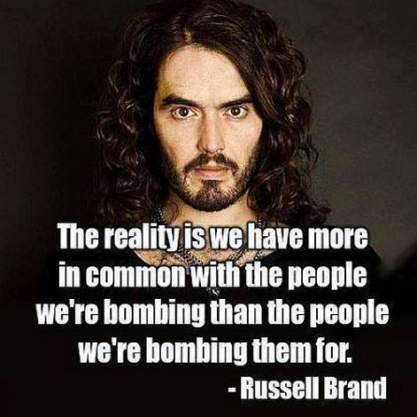 Russell Brand the reality is we have