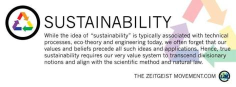 Sustainability While The Idea Of Sustainability