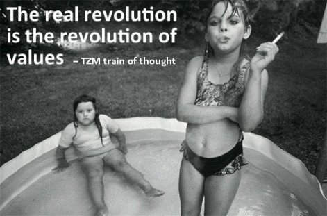 The real revolution is the revolution