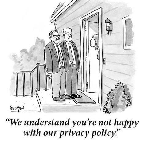 We Understand You're Not Happy With Our Privacy Policy