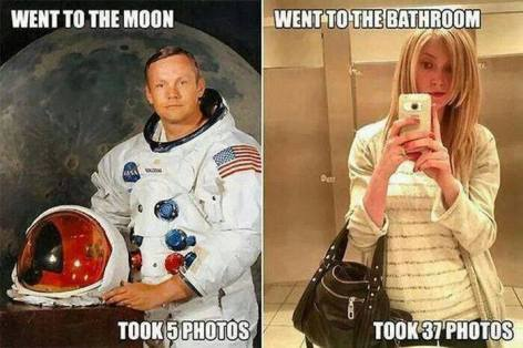 Went To The Moon Took 5 Photos Went