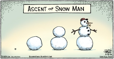 Ascent Of Snow Man