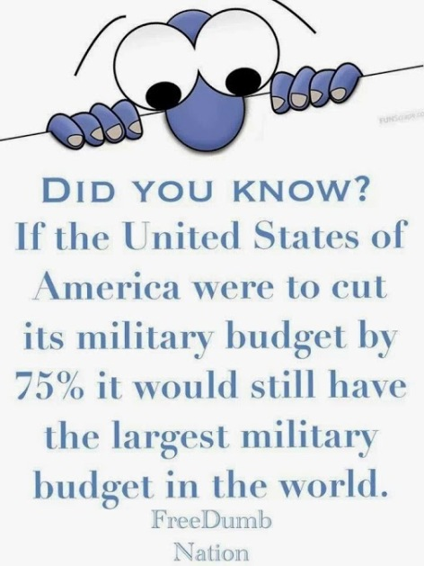 did you know if the USA were to cut