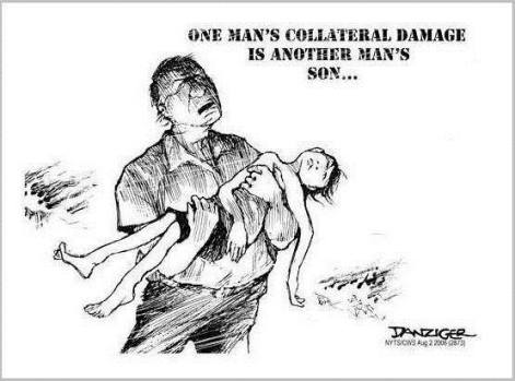 one man's collateral damage is another man's son