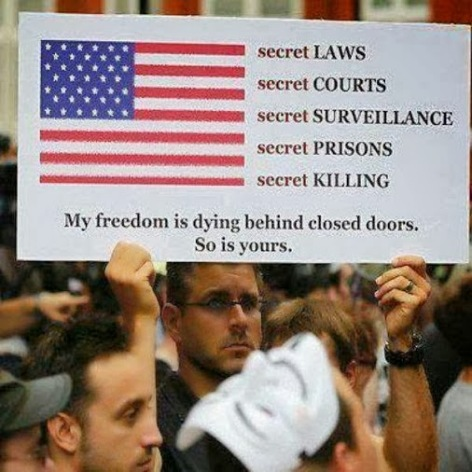 secret laws, courts, surveillance