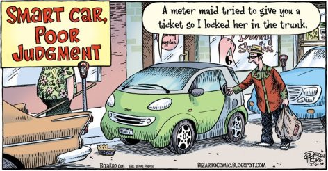 Smart Car poor judgment