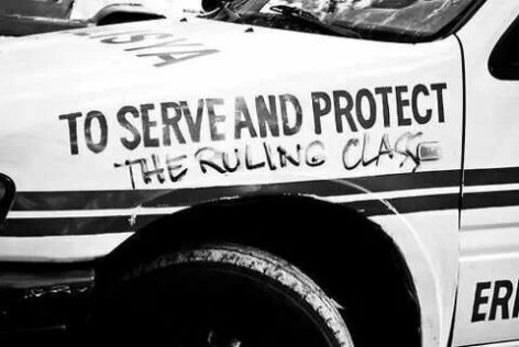 To Serve And Protect The Ruling Class