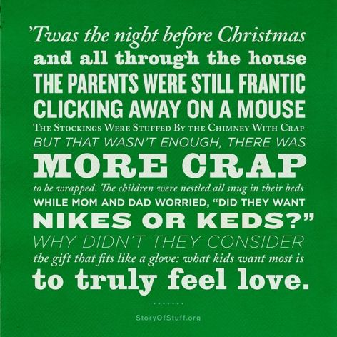 twas the night before christmas story of stuff