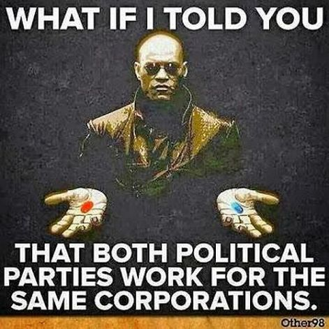 what if I told you that both political