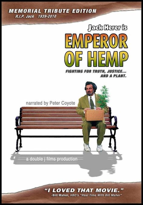 Emperor Of Hemp The Jack Herer Story cover poster